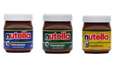 Cores do Brasil estampam embalagens de Nutella