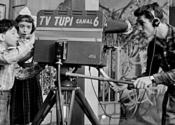 Evino comemora 1ª. transmissão experimental de TV