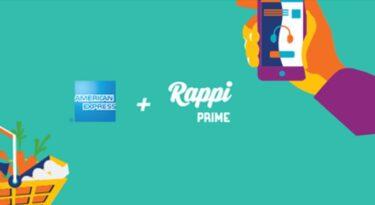 American Express fecha parceria com Rappi