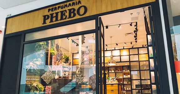 Phebo destaca perfumaria com flagships