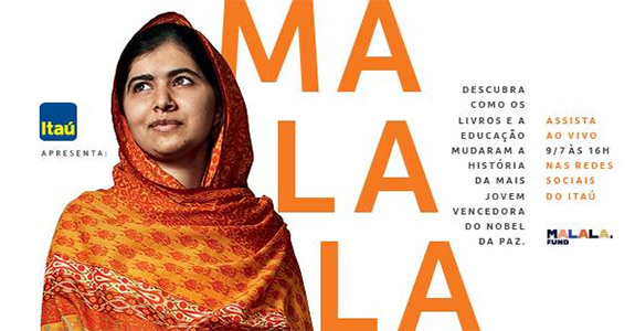 Como o Itaú e a Tudo articularam a visita de Malala ao Brasil