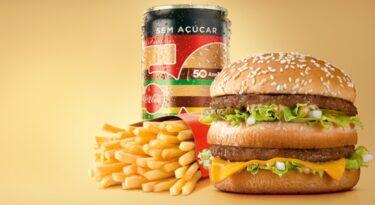 McDonald's e Coca-Cola lançam latinha comemorativa