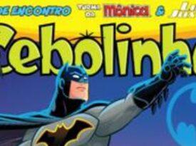 Panini faz crossover entre Batman e Turma da Mônica