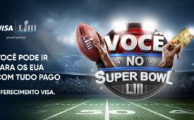 Visa e Bradesco sorteiam ingressos para o Super Bowl