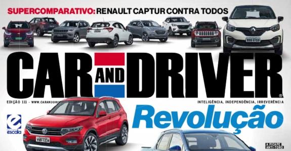 Car and Driver, da Editora Escala, é descontinuada
