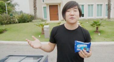 Pyong Lee transforma biscoito Oreo em sorvete