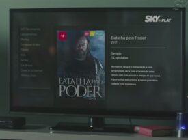 Séries não tiram folga em campanha do Sky Play