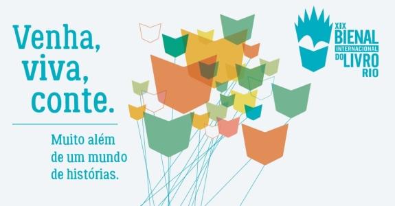 Bienal do Livro Rio muda identidade visual – Meio & Mensagem