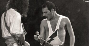 Uma gota de suor de Freddie Mercury