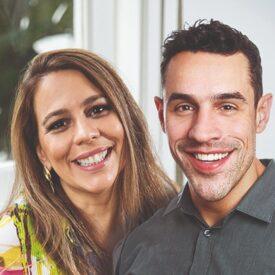 Clotilde Perez e Bruno Pompeu