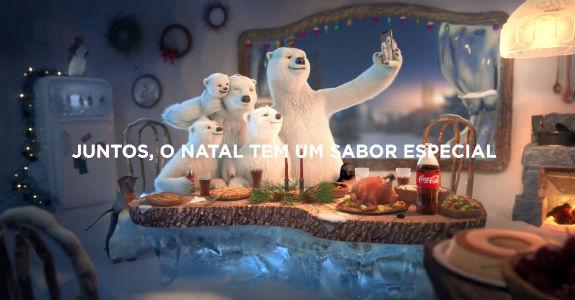 Ursos voltam para campanha da Coca-Cola