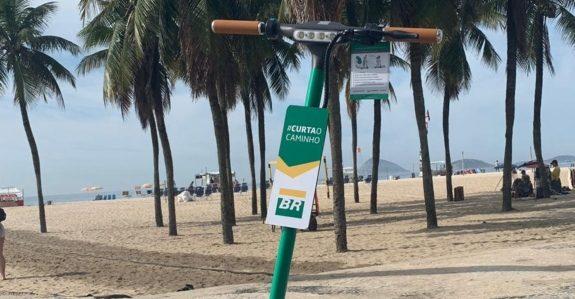 Tembici e Petrobras oferecem patinetes elétricos no Rio