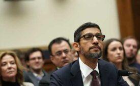 CEO do Google refuta acusações de viés político da empresa