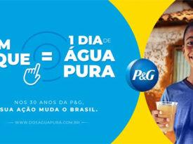P&G celebra 30 anos de Brasil com ação social