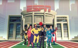 Ao mirar público jovem, ESPN transforma astros em super-heróis