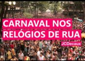 Carnaval nos Relógios de Rua