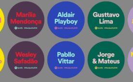 """Spotify ocupa metrô de São Paulo para relembrar """"mais ouvidos"""""""