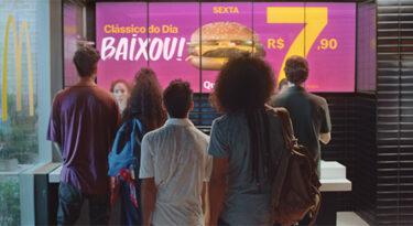 Em ação do McDonald's, portal R7 vira R7,90