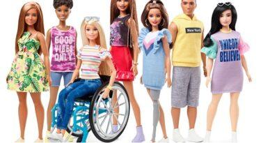 Barbie lança bonecas cadeirantes e com próteses