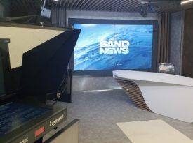 BandNews TV inaugura novo estúdio