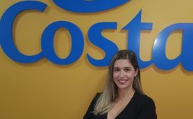 Costa Cruzeiros apresenta gerente de marketing