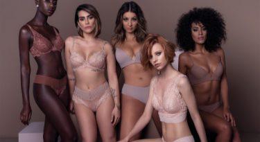 Uma coleção de lingerie contra a discriminação racial