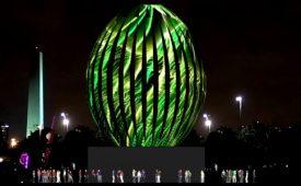 Lacta aposta em ovo de LED para a Páscoa