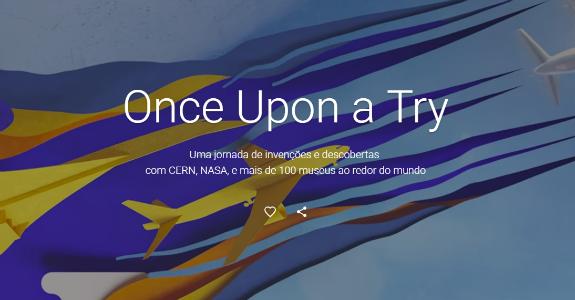 Google promove exposição virtual sobre inovação