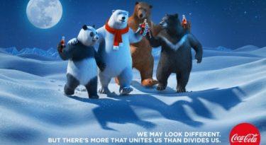 Urso polar da Coca-Cola ganha amigos para retratar diversidade