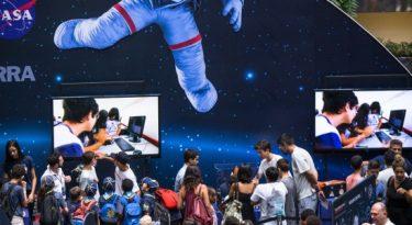 Shopping Eldorado promove evento com a NASA