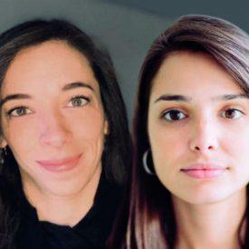 Stephanie Campbell e Isabela Albero