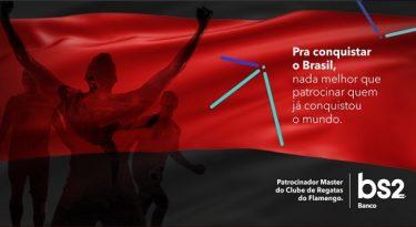 Flamengo oficializa Banco BS2 como patrocinador máster