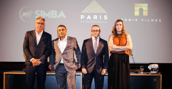 Simba e Grupo Paris anunciam parceria em produção para cinema