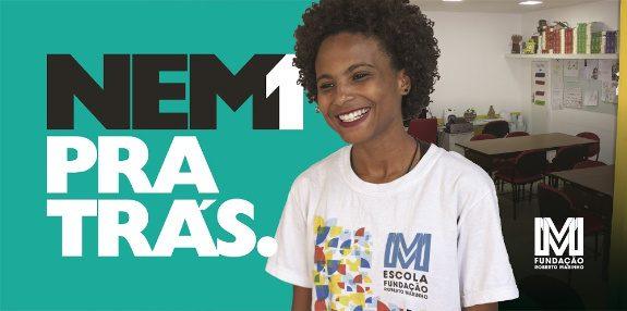 #Nem1PraTrás, um movimento pela educação