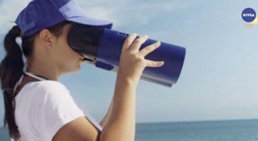 Nivea usa tecnologia para conscientizar sobre proteção solar