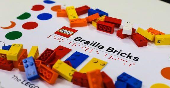 Lego decide apoiar Braille Bricks