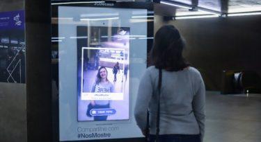 JCDecaux e Dove incentivam autoestima em ação no Metrô