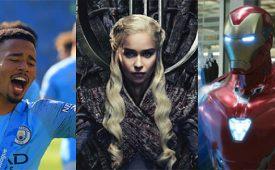 Hot Topics de abril destacam futebol, GoT e Vingadores