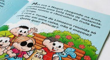 Dorina Nowill lança quadrinhos em braille com Turma da Mônica