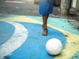 Ativação da Adidas exalta futebol de rua em São Paulo