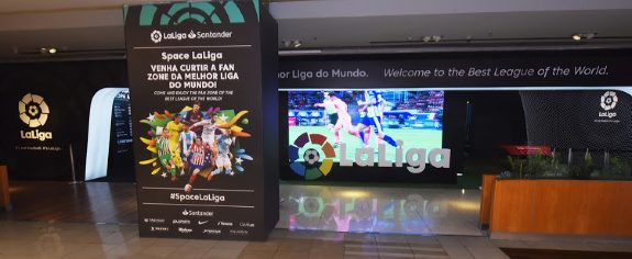 Liga de futebol espanhola mira Brasil