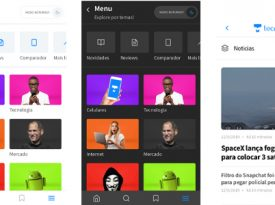 TecMundo remodela versão mobile