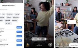 Instagram e Facebook adotam ferramentas de música
