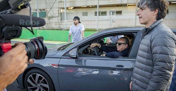 Galvão Bueno estreia projeto com Volkswagen