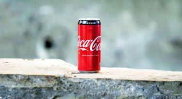 Coca-Cola e água