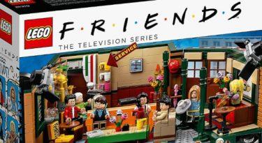 Lego lança set de bonecos da série Friends