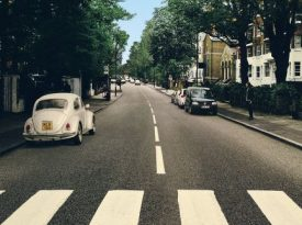 Volkswagen reposiciona fusca de Abbey Road