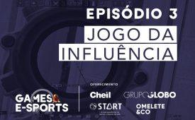 Série Jornada Gamer | EP 3: Jogo da influência