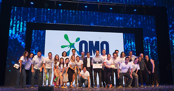 Omo conquista prêmio máximo do Top of Mind