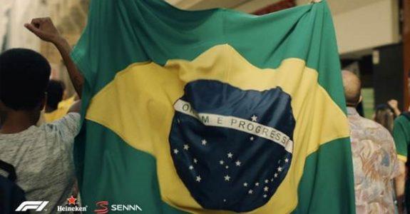 """Em """"Obrigado"""", Heineken evoca poder de união de Senna"""